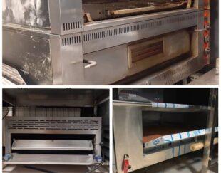 خرید و فروش انواع فر پیتزا پز صنعتی کارکرده و نو
